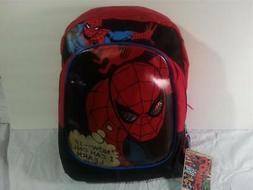 "16"" Marvel Comics Spider-Man Backpack NWT Vintage Classic St"