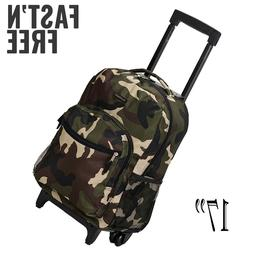 ROCKLAND 17 ROLLING BACKPACK CAMO