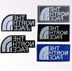 5Pcs Embroidered iron-on patches / Sew The North Face T-Shir