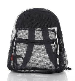 Clear Mesh Backpack For Kids Men Women Transparent/See Throu