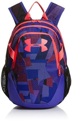 Under Armour Kids' School Small Fry Backpack, Penta Pink, On