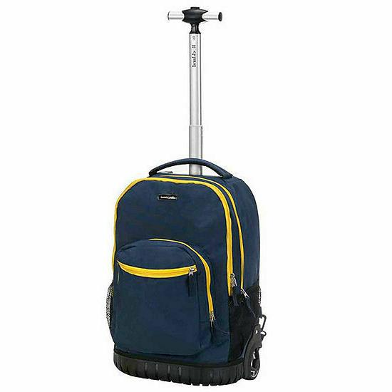 Rockland Rolling Backpack R02 Navy 13 x x 19