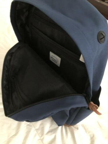 Vaschy Classic Backpack Blue Suede NWT