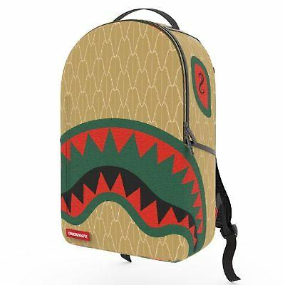 kids spucci gang backpack b3168 yellow red