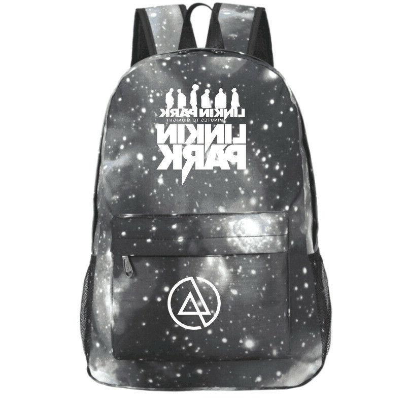 Linkin Park Women Mens Fashion for Teenagers Gifts Bookbags