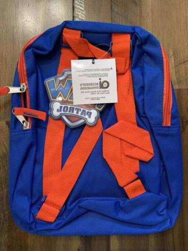 """NWT Paw Toddler 11"""" Backpack Chase Marshall Rubbl"""