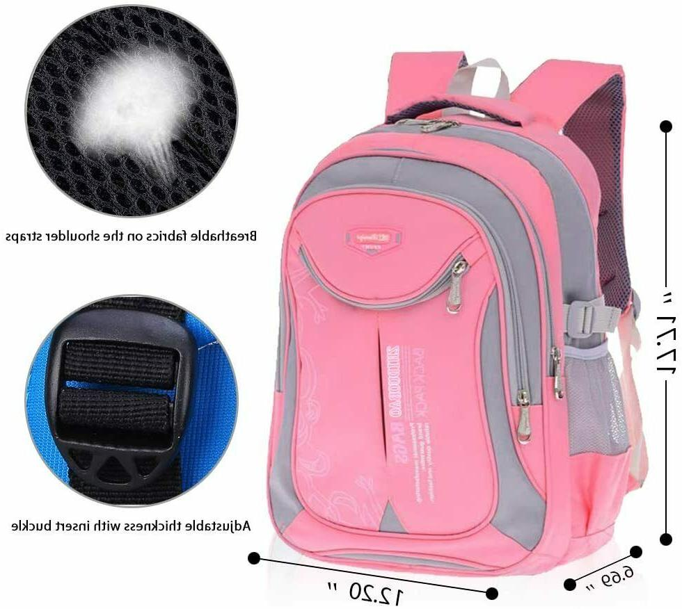 OuTrade for School, Daypack, Travel, Pink