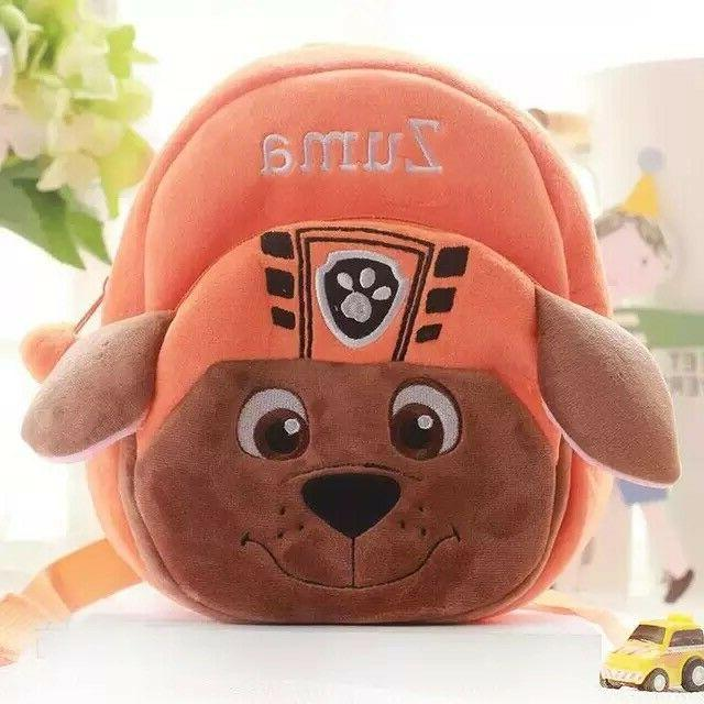 Paw Cute Dog Cartoon Backpack for little kids