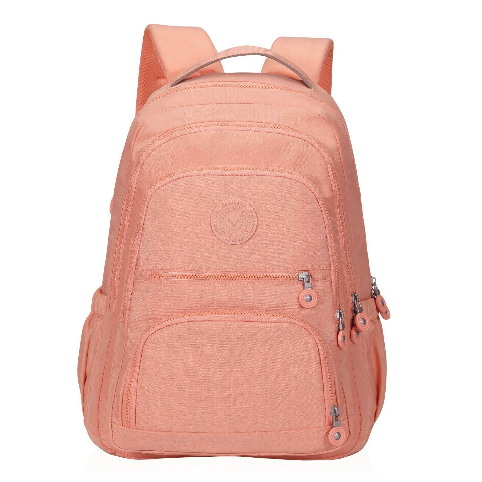 school backpack student casual daypack laptop fits