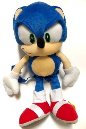 Sonic The Hedgehog stuffed toy backpack Video Games
