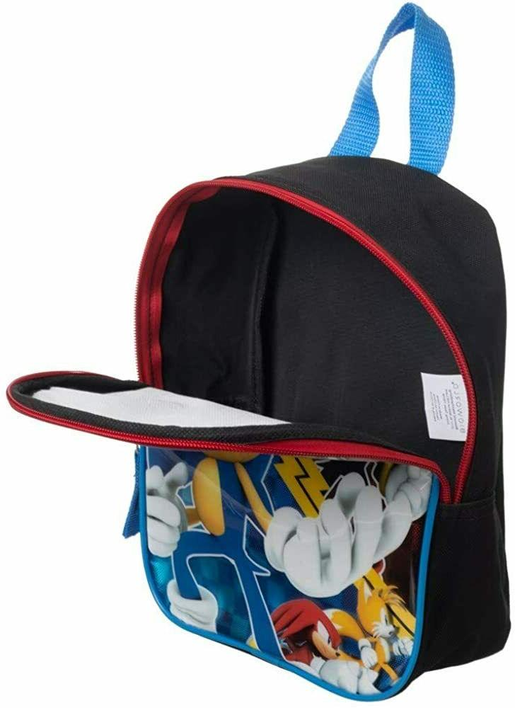 Sonic Boys Toddler Backpack Book Gift Game