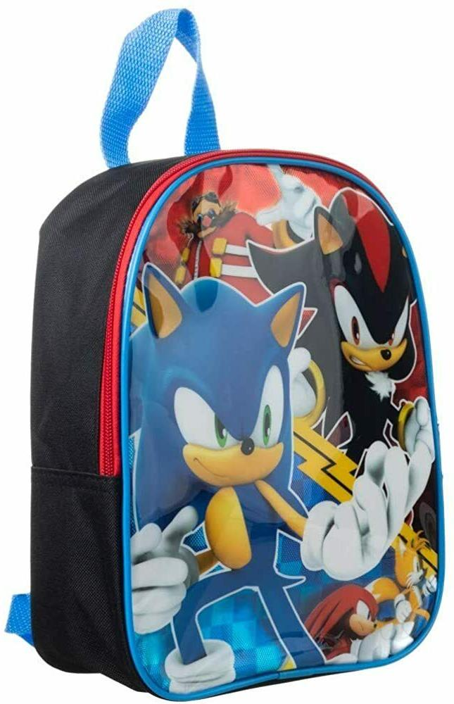 Sonic The Toddler Backpack Book Gift