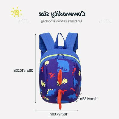 Unsex Toddler Kids Baby Mini Bag School Dinosaur with