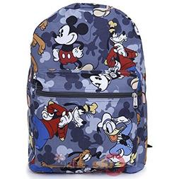 """Disney Mickey Mouse, Donald Duck, Goofy All Printed 16"""" Scho"""