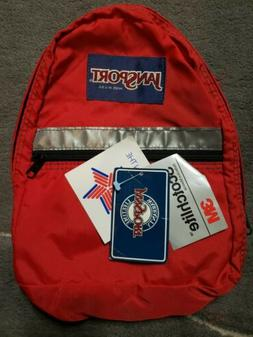 New Vintage Jansport Made In The USA Mini Kids Reflective Ba