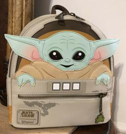 NEW WITH TAGS! Loungefly Disney Star Wars The Child Baby Yod
