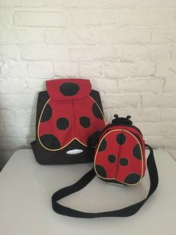Sammies By Samsonite Little Girls Small Ladybug Backpack and