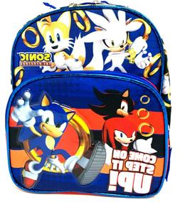 """Sonic the Hedgehog"""" Come On Step It UP!!"""" Mini 10 inches Bac"""