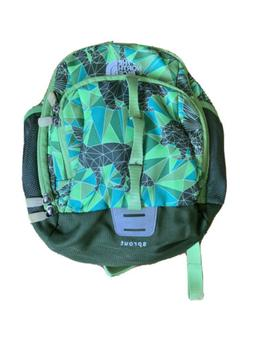 THE NORTH FACE Sprout Small Day Backpack Toddler  Green Patt