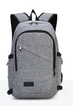 USB Charge Interface Laptop Backpack Travel Notebook Men Wom