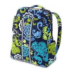 Women's Fashion Cartoon Blue Green  Student small Backpack