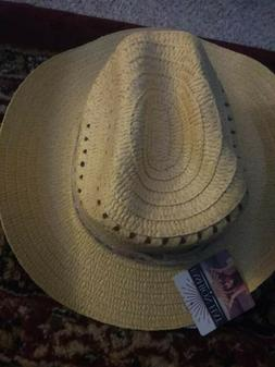 "Women's Woven Fashion 6 HATS 2 Tans 2 Browns 2 Vanilla "" NEW"