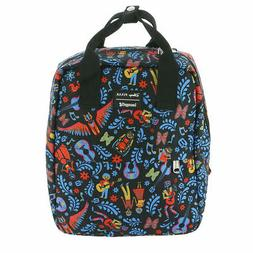 Loungefly X Disney Coco AOP Printed Square Nylon Backpack -